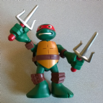 Half Shell Heroes Teenage mutant ninja turtles Raph Taking Tech large figure